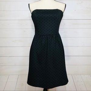NWT GAP Strapless Little Black Dress Sz 2